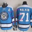 pittsburgh penguins #71 evgeni malkin 2015 Ice Winter Jersey Blue Hockey Authentic Stitched