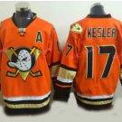 Men's Anaheim Ducks Hockey Jersey Orange 2016 Alternate 17 Ryan Kesler Stitched Jersey