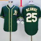 Oakland Athletics #25 Mark Mcgwire 2015 Baseball Jersey  Authentic Stitched