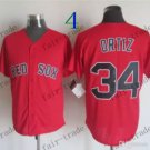 Boston Red White #34 david ortiz Red 2015 Baseball Jersey Authentic Stitched