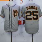 San Francisco Giants #25 Barry Bonds Grey 2015 Baseball Jersey Authentic Stitched