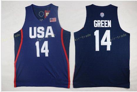 2017 Dream Twelve Team USA Jerseys #14 Draymond Green Navy