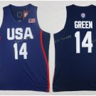 2017 Dream Twelve Team USA Jerseys #14 Draymond Green Navy