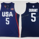 2017 Dream Twelve Team USA Jerseys #5 Kevin Durant Navy