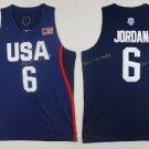 2017 Dream Twelve Team USA Jerseys #6 LeBron James Navy