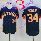 houston astros #34 Nolan Ryan 2016 Baseball Jersey Black Authentic Stitched