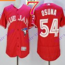 2016 Flexbase Stitched Toronto Blue Jays #54 Osuna Red Jersey