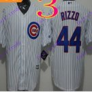 2016 Majestic Official Cool Base Stitched Chicago Cubs #44 Anthony Rizzo White Baseball Jerseys