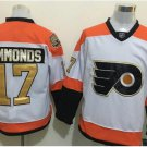 50th Anniversary Flyers 17 Wayne Simmonds White Winter Classic Gold Throwback Hockey Jerseys