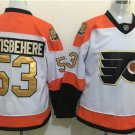 50th Anniversary Flyers 53 Shayne Gostisbehere White Winter Classic Gold Throwback Hockey Jerseys