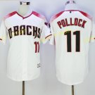 Arizona Diamondbacks 11 A.J Pollock Jersey Men Fashion Stitched  Baseball Jerseys White red