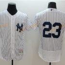 New York Yankees 23 Don Mattingly Jersey 1961 Cooperstown Baseball Jerseys Throwback White