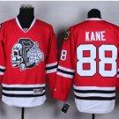 #88 patrick kane Skulls Red White ICE Throwback Vintage Jersey ICE Hockey Jerseys Heritage Stitched