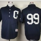 Cleveland Indians #99 Rick Vaughn 2015 Baseball Jersey Black Jerseys Authentic Stitched Style 2