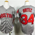youth boston red sox #34 david ortiz 2015 Baseball Jersey Grey Jerseys Authentic Stitched