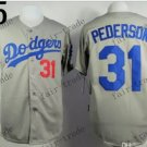 Los Angeles Dodgers #31 Mike Piazza 2015 Baseball Jersey Grey Authentic Stitched