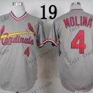st.louis cardinals #4 Yadier Molina 2015 Baseball Jersey  Authentic Stitched