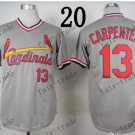 st.louis cardinals #13 Matt Carpenter 2015 Baseball Jersey  Authentic Stitched
