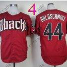 Paul Goldschmidt Jersey Authentic Red 1999 Turn Back Pinstripe Arizona Diamondback