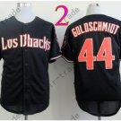 Paul Goldschmidt Jersey Authentic Black 1999 Turn Back Pinstripe Arizona Diamondback
