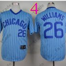 Billy williams Jersey 1969 Throwback Chicago Cubs Jerseys Blue Pinstripe
