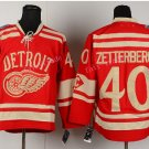2016 Stadium Series Detroit Red Wings Hockey Jerseys 40 Henrik Zetterberg Jersey Red Style 3