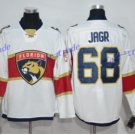 Florida Panthers #68 White Jaromir Jagr White 2016 Hockey Jerseys Ice Winter Jersey All Stitched