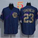 chicago cubs #23 Ryne Sandberg Blue 2016 Baseball Jersey