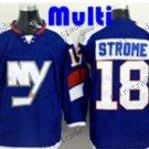 new york islanders #18 ryan strome Blue 2015 Ice Winter Hockey Jerseys Authentic Stitched