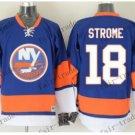 new york islanders #18 ryan strome Blue Orange 2015 Ice Winter Hockey Jerseys Authentic Stitched