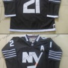 new york islanders #21 kyle okposo Black 2015 Ice Winter Hockey Jerseys Authentic Stitched