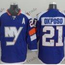 new york islanders #21 kyle okposo Blue 2015 Ice Winter Hockey Jerseys Authentic Stitched