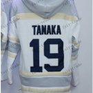 New York  #19 masahiro tanaka Baseball Hooded Stitched Old Time Hoodies Sweatshirt Jerseys