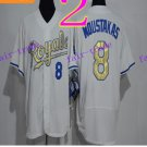 Kansas City Royals #8 Mike Moustakas 2016 Baseball Jersey Authentic Stitched