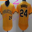 pittsburgh pirates #24 barry bonds Baseball Jersey Authentic Stitched