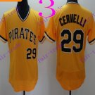 pittsburgh pirates #29 Francisco Cervelli Baseball Jersey Authentic Stitched