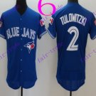 Toronto Blue Jays #2 troy tulowitzki 2016 Baseball Jersey Authentic Stitched
