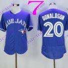 Toronto Blue Jays  20 Josh Donaldson 2016 Baseball Jersey Authentic Stitched