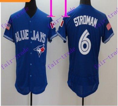 Toronto Blue Jays #6 Marcus Stroma 2016 Baseball Jersey Authentic Stitched