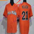 miami marlins #21 christian yelich 2016 Baseball Jersey Authentic Stitched