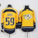 Nashville Predators #59 Roman Josi Yellow 2016 Hockey Jerseys Ice Winter All Stitched