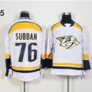 Nashville Predators #76 P.K Subban White 2016 Hockey Jerseys Ice Winter All Stitched