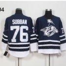 Nashville Predators #76 P.K Subban Blue 2016 Hockey Jerseys Ice Winter All Stitched
