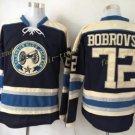 Columbus Blue Jackets #72 Sergei Bobrovsky Blue 2016 Hockey Jerseys Ice Winter Jersey All Stitched