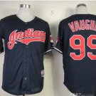 Cleveland Indians #99 Rick Vaughn 2015 Baseball Jersey Black Authentic Stitched Style 3