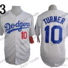 Los Angeles Dodgers #10 Justin Turner White 2015 Baseball Jersey Authentic Stitched