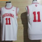 2017 College 11 Isiah Thomas Jerseys Indiana Shirt Uniform  Material Team Color White