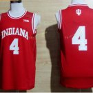 2017 College 4 Victor Oladipo Jerseys Indiana Shirt Uniform  Material Team Color Red