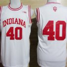 2017 College 40 Cody Zeller Jerseys Indiana Shirt Uniform  Material Team Color White