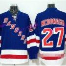 New York Rangers 27 Ryan McDonagh Ice Hockey Jerseys Stadium Series Winter Classic Blue